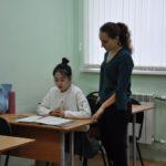Занятия на отделении по международной работе и платным формам