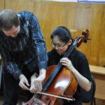 Инструментальное исполнительство, виолончель, 3 курс. Преподаватель Михайлов С.Н