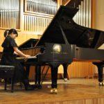 Отчетный концерт студентов 1 курса фортепианного отделения. Ёнэяма Кёка (Япония) Класс педагога Карпова М.Ю