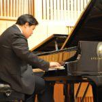 Отчетный концерт студентов 1 курса фортепианного отделения. Ли Болиан (КНР) Класс педагога Кашунина К.А