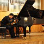 Отчетный концерт студентов 1 курса фортепианного отделения. Ян И (КНР) Класс педагога Кашунина К.А